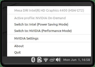 nvidia optimus support