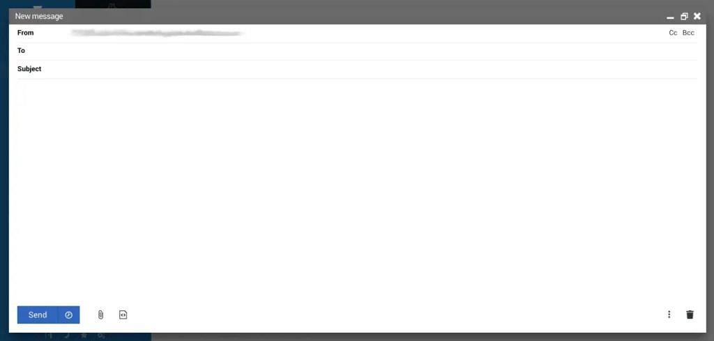 Usermin send email