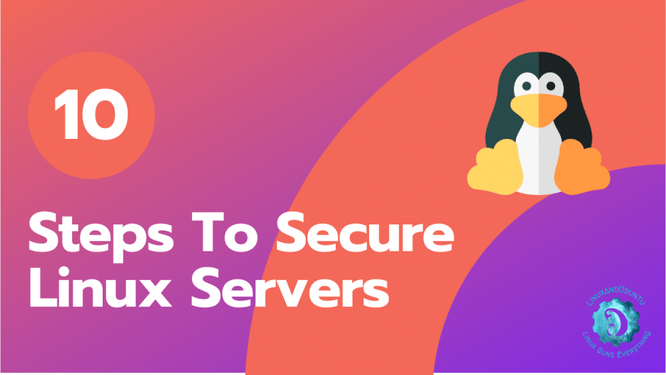 steps to secure linux server