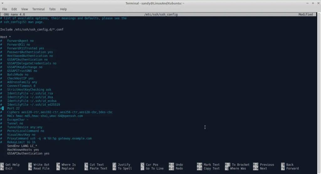 Open SSH Config