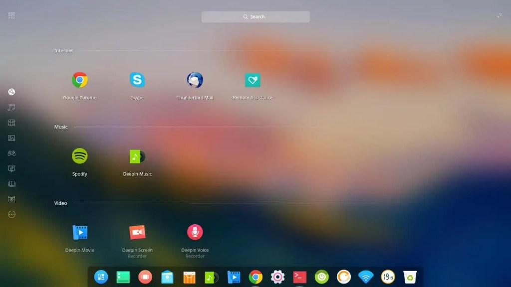 Deepin Desktop Environment for Linux