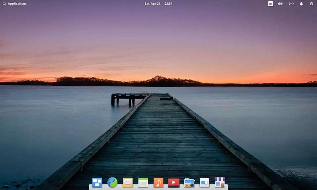 Pantheon desktop environment for linux