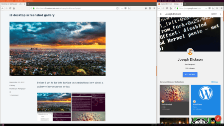 Two Firefox Windows