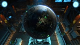 Mission Control Holo Globe