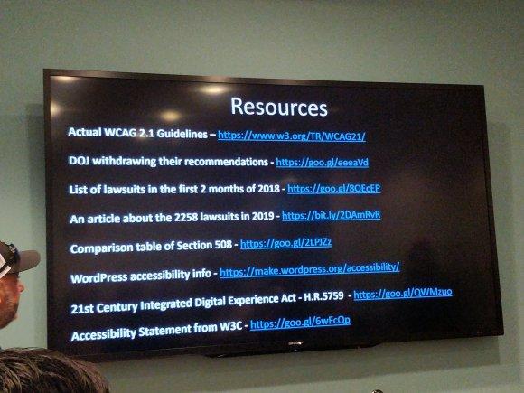 Resources Slide