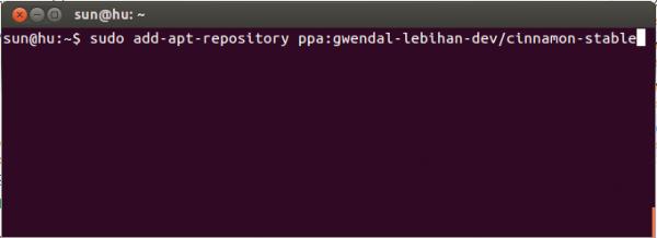 Ubuntu Cinnamon PPA