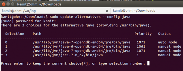 How to install Oracle JRE and make it the default JRE on ...