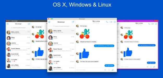 LinuxForum.hu Facebook Messenger Linux desktop alkalmazás Windows OSX Messenger Linux Facebook Desktop