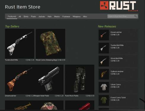 rust_item_store_first_storefront_to_be_on_steam