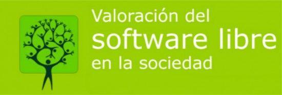 Logo encuesta valoración software libre