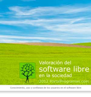 Portada informe valoración del software libre en 2012