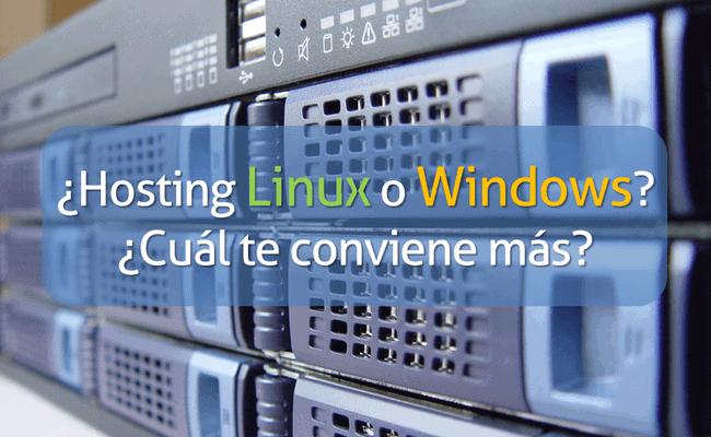 cabecera hosting windows linux