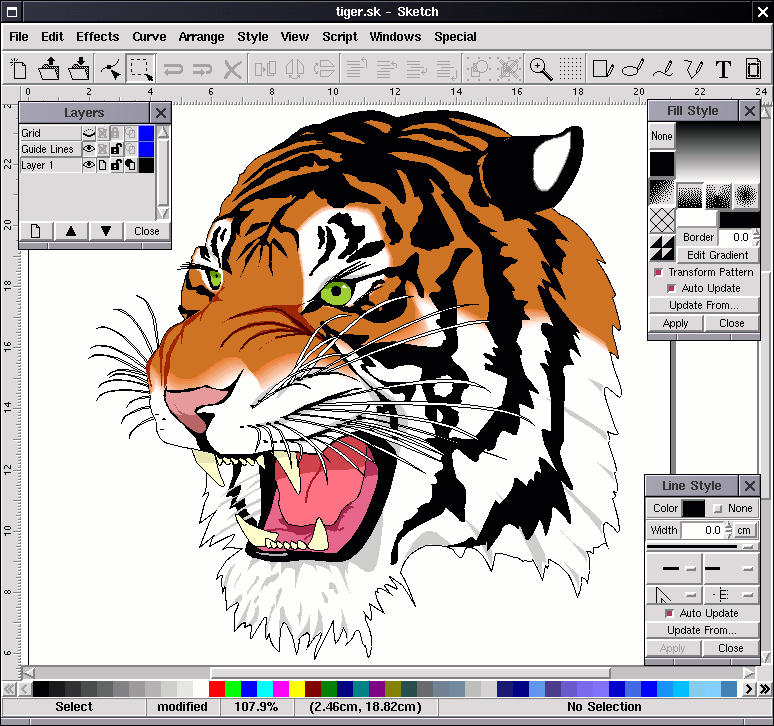 Create Vector Graphics with Open Source Software - LinuxLinks