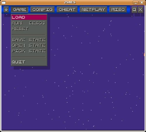 ZSNES - free Super Nintendo emulator - LinuxLinks