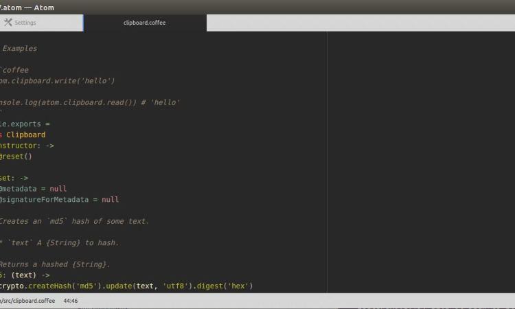 Atom 1 24 released - Hackable Text Editor - LinuxLinks