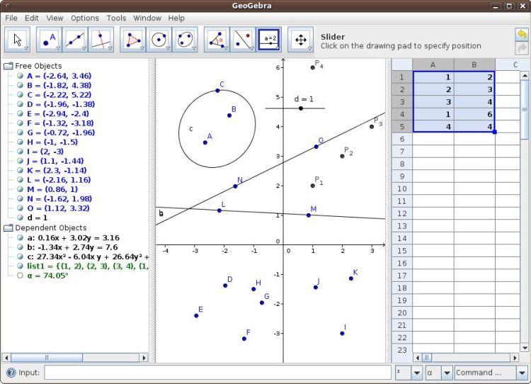 GeoGebra - graphing, geometry, 3D, and more - LinuxLinks