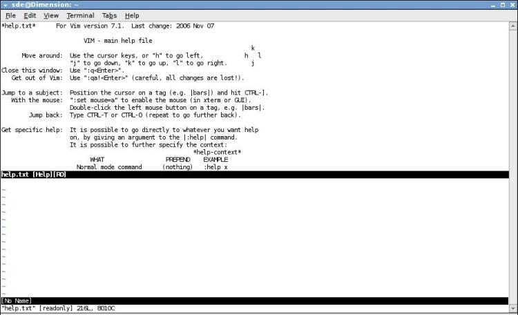 Vim - highly configurable text editor - LinuxLinks