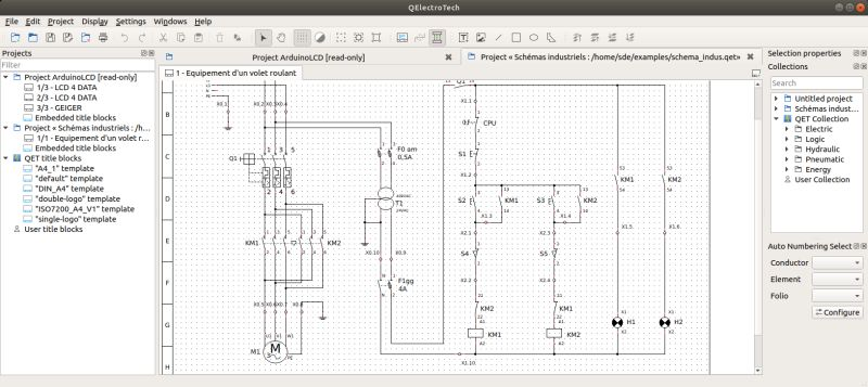 Schematic Design Software Qelectrotech Java Electronic Circuit ...