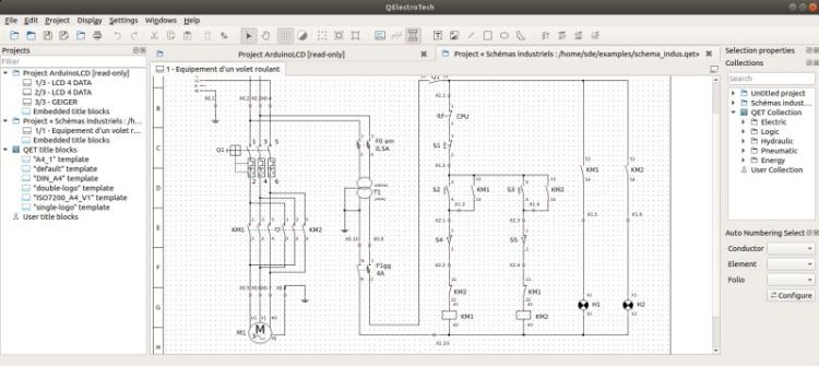 Qelectrotech - Design Electric Diagrams
