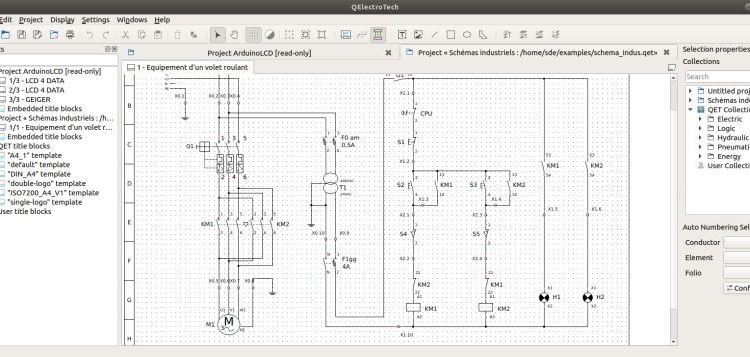 8 Best Free Electronic Design Automation Tools - LinuxLinks Electronic Schematics on