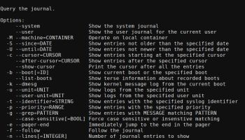 Essential System Tools: QJournalctl - Graphical User