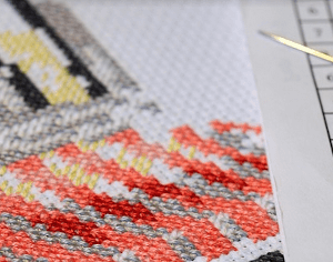 Linux at Home - Cross-stitch