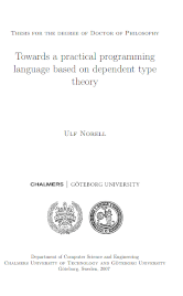 Towards a practical programming language based on dependent type theory