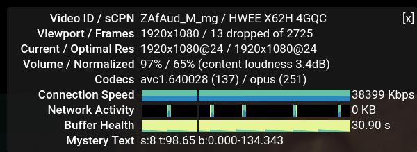 HP EliteDesk - Firefox - Stats for Nerds