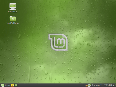 Linux Mint 7 Gloria