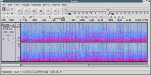 Audacity is available for Linux, Windows and Mac