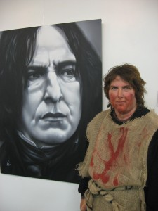 Lisa McGeorge with Snape