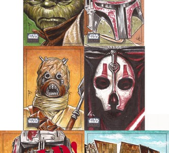 """Star Wars- nothing but Star Wars..!"" Artist Returns Available"
