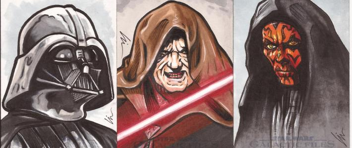 """The Palpy Bunch"" – new Star Wars sketch cards approved"