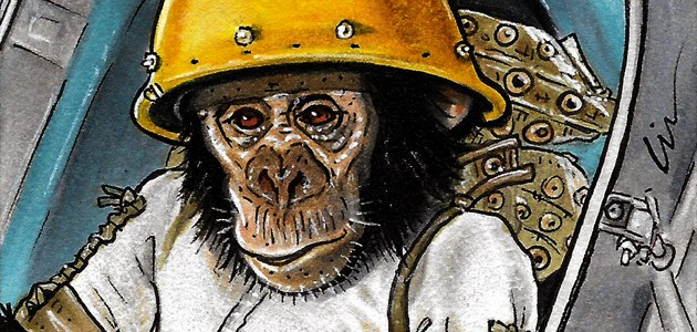 Going Ape On Sketchcards