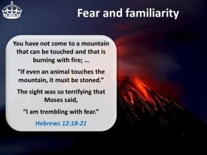 Hebrews 12:18-21