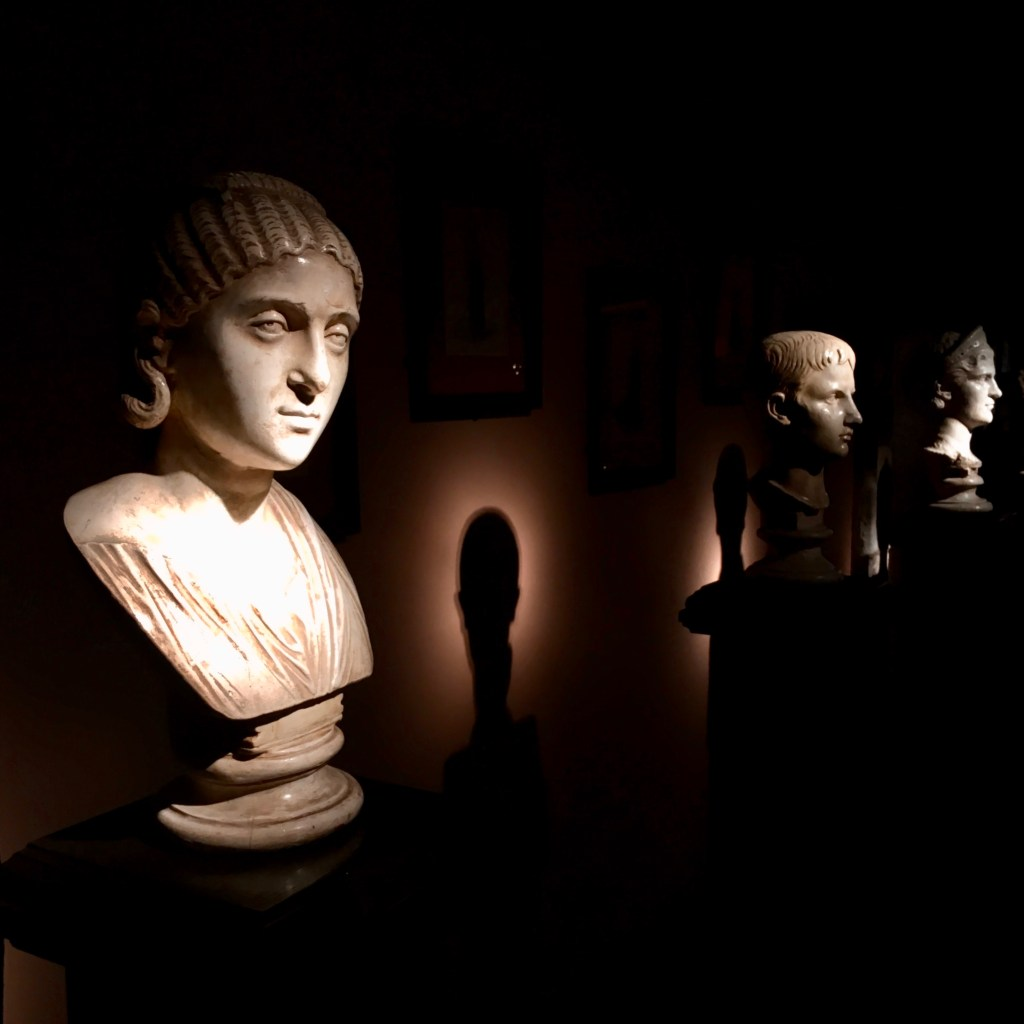 Busts with shadows