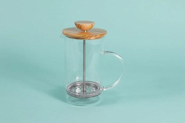 Olive Wood Coffee and Tea Press