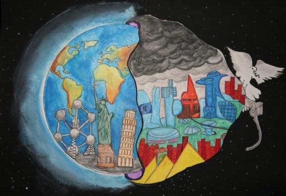 Oostende - Kevin NAHOEL - St Andreas Middenschool - 2e prijs 112A 2013