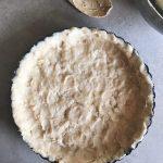 Meyer Lemon Tart with Shortbread Crust