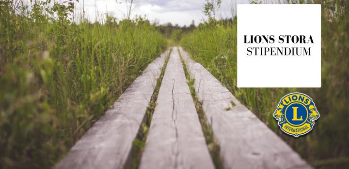 LIONS STORA STIPENDIUM