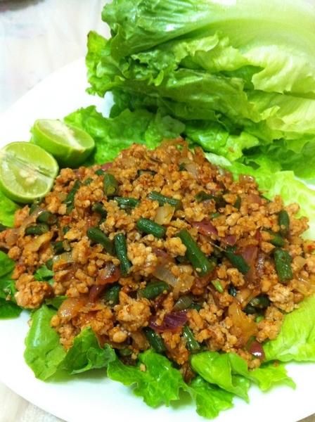 泰式生菜肉碎包 Spicy Minced Meat with Lettuce
