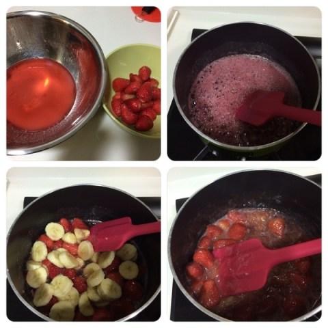 草莓香蕉果醬