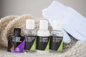 Tu'el Body Glow Kit Lipgloss Aftershave