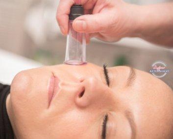 dmGlow treatment facial cupping