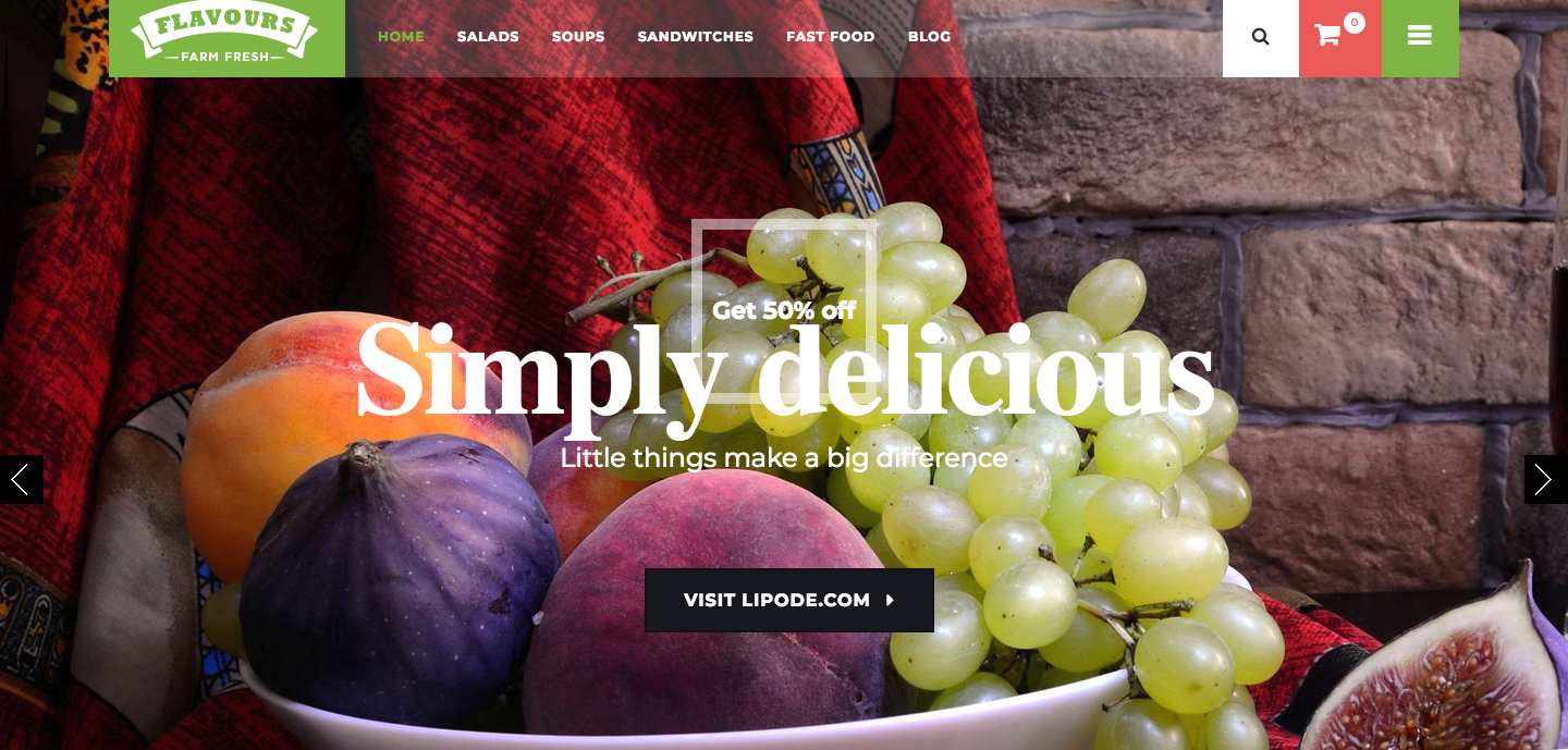Flavours Fruit Store, Organic Food Shop WooCommerce Theme.png