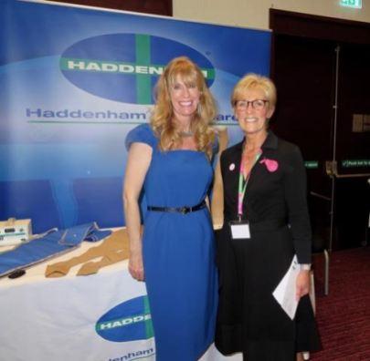 Lynn Finch of Haddenham and Denise Hardy