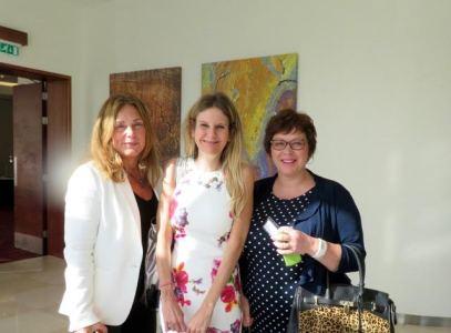 Naomi Northern-Ellis of Compression Therapy UK Miss Surgeon Anne Dancey & Nurse Julia Cunneen