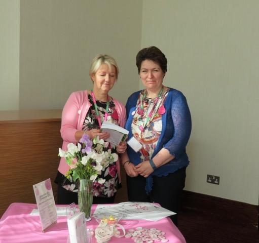 Nurse Consultants Mary Warrilow and Kris Jones of Lymphcare UK