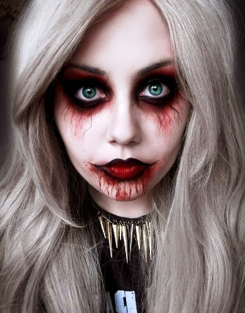 lipoedem mode last minute halloween make-up Zombie