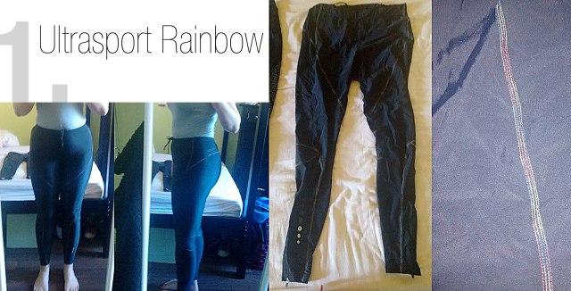 lipoedem mode kompressions-sporthosen  ultrasport rainbow